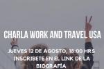Charla informativa sobre el Programa para estudiantes de Educación Superior, Work and Travel USA