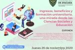 Promoción de carreras Facultad de Humanidades y Educación